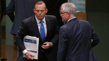Will Tony Abbott quit Parliament or retire to the backbench in dignified silence. Or will he cause problems for Malcom Turnbull?
