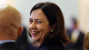 Premier Annastacia Palaszczuk is confident Labor's new political donation disclosure regime would stand up to a court challenge.