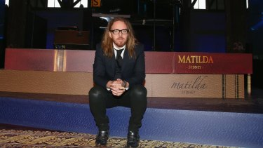 Tim Minchin has been overwhelmed by the success of <i>Matilda the Musical</i>.