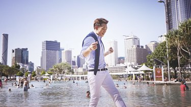 Korean K-Pop star Rain filmed his latest music video in Brisbane.