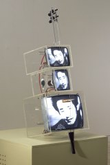 Nam June Paik & John Godfrey, <i>TV Cello</i>, 1976. Collection: Art Gallery of New South Wales.