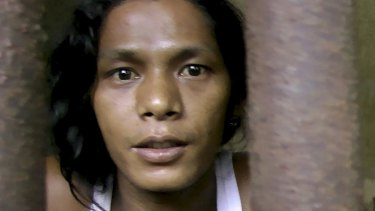 Kyaw Naing, a fisherman from Myanmar, who was forced into slavery on the island of Benjina.