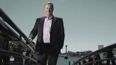 CEO of Wiggins Island Coal Export Terminal Robert Barnes.