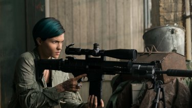 Australian actress Ruby Rose joins Diesel on the side of virtue as a sharpshooter.