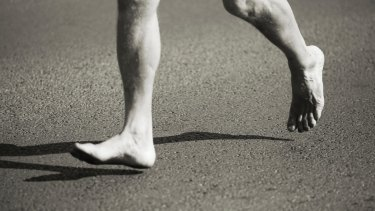 Barefoot running is fraught with risk.