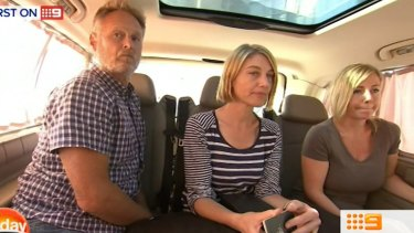 David Ballment, Tara Brown and Sally Faulkner have been released from a Lebanon jail.