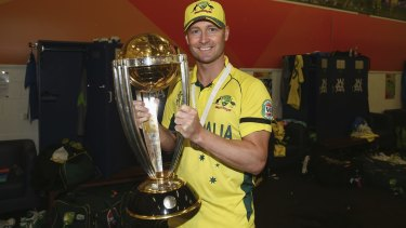 High-priced target: World Cup-winning Australian captain Michael Clarke.