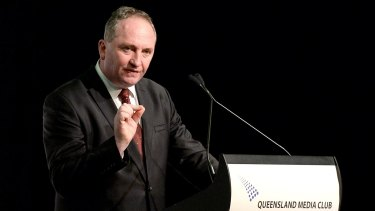 Deputy Prime Minister Barnaby Joyce is among government ministers digging in to defend the new Centrelink computer system.