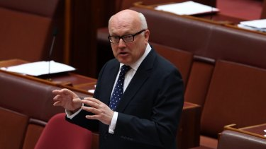 Attorney-General George Brandis dismissed concerns that the increased intelligence sharing could allow the ADF to target Australian citizens for killing.