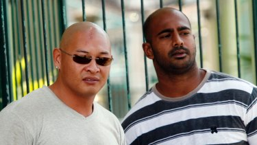 Facing firing squad: Andrew Chan and Myuran Sukumaran.