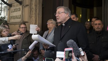 Even his staunchest defenders now accept that Cardinal George Pell is an embattled figure seemingly under attack from all sides.