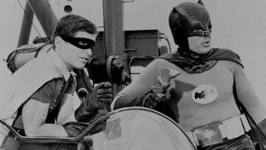 An early episode of Batman.