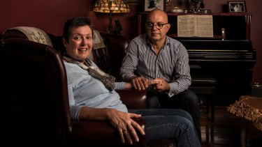 Anne and Paul Gabrielides are petitioning NSW MPs to support a voluntary assisted dying bill.