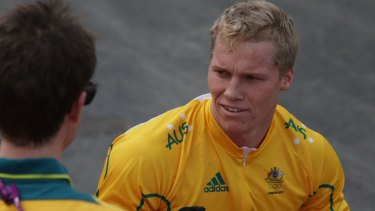 Tragedy strikes: Sam Willoughby broke his back in a training accident in 2015.