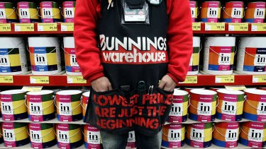 Bunnings' legendary service levels will provide it with some insurance against Amazon.