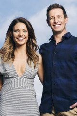 New kids ... Sam Frost and Rove McManus have their work cut out.