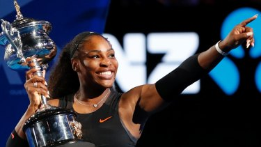 Reigning champion Serena Williams is aiming for an Australian Open return.