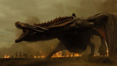 Seeing Game of Thrones on TV screens right now just sharpens our appetites for the next book.