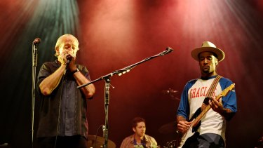Ben Harper and Charlie Musselwhite.