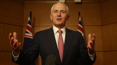 """He's entitled to his opinion,"" Mr Turnbull told ABC radio."