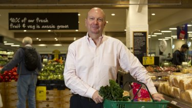 Woolworths chairman Gordon Cairns says his first priority is to find a new chief executive.
