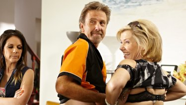 Robyn Malcolm (right) has played bogans, crime bosses and fierce matriarchs.