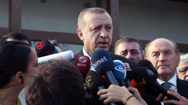 Turkish President Recep Tayyip Erdogan has backed Operation Euphrates Shield but also wants to rebuild ties with Moscow.
