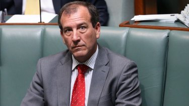 Mal Brough, a government Howard government minister, was re-elected to Parliament in 2013.