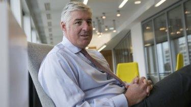 Former NAB CEO Cameron Clyne.
