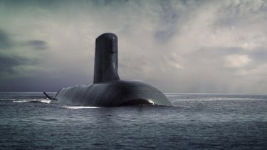 The all-Australian build for the submarines goes against the preference of DCNS.
