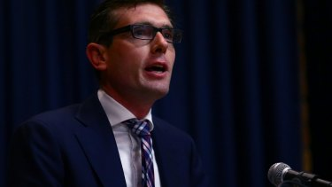 Treasurer Dominic Perrottet will release the half-yearly budget review