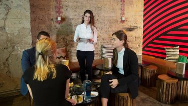 Monique Atlas at Mejico Restaurant, which enhances the dining experience via customer profiling.