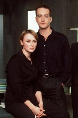 Keeley Hawes and Matthew McFadyen in Spooks.