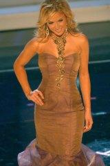 Tara Conner at Miss Universe 2006.