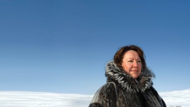 Sheila Watt-Cloutier warns that the melting of the Arctic will have disastrous consequences for her people.