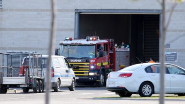 Fire crews returned to the remand centre on Wednesday morning.