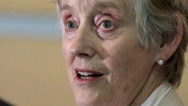 Former head of the British Security Service, MI5, Dame Stella Rimington.