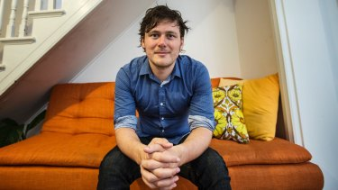 Daniel Stone doesn't think he will ever be able to buy in the Sydney property maket.