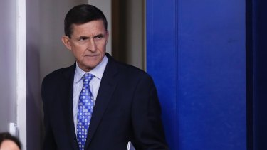 Donald Trump's former national security adviser Michael Flynn.