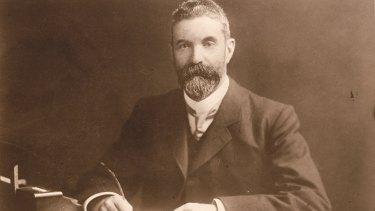 Prime Minister Alfred Deakin in 1905.