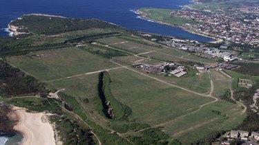 """""""Sacred green shoulder"""": Sydney's last undeveloped headland could be sold to developers."""