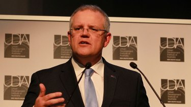 Treasurer Scott Morrison has confirmed the government's budget projections have worsened.