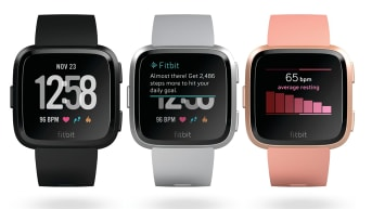 Fitbit Versa Review Smart Watch Will Get You Fit Without You Even