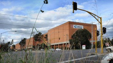 The Amcor paper recycling mill in Alphington.