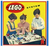 Flashback: Some of the first Lego creations.