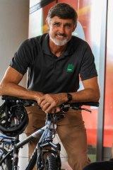 Bicycle Queensland CEO Ben Wilson.