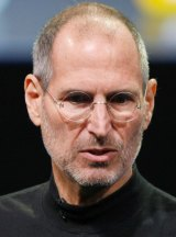 Former Apple CEO Steve Jobs.