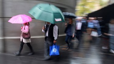 The humble umbrella is responsible for slowing public transport.