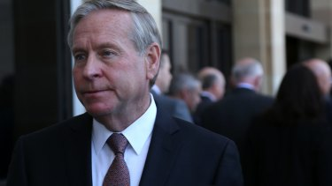 Colin Barnett was unperturbed by the unfriendly reaction he got at Parliament on Wednesday.