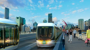 Brisbane City Council is considering an automatic, driverless metro.